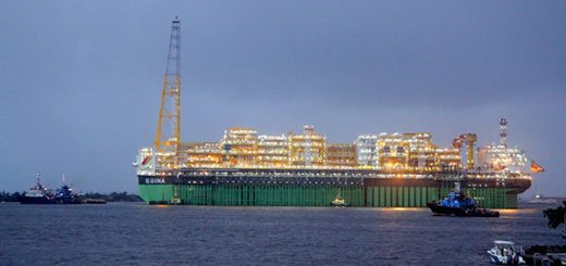 sailing of EGINA FPSO